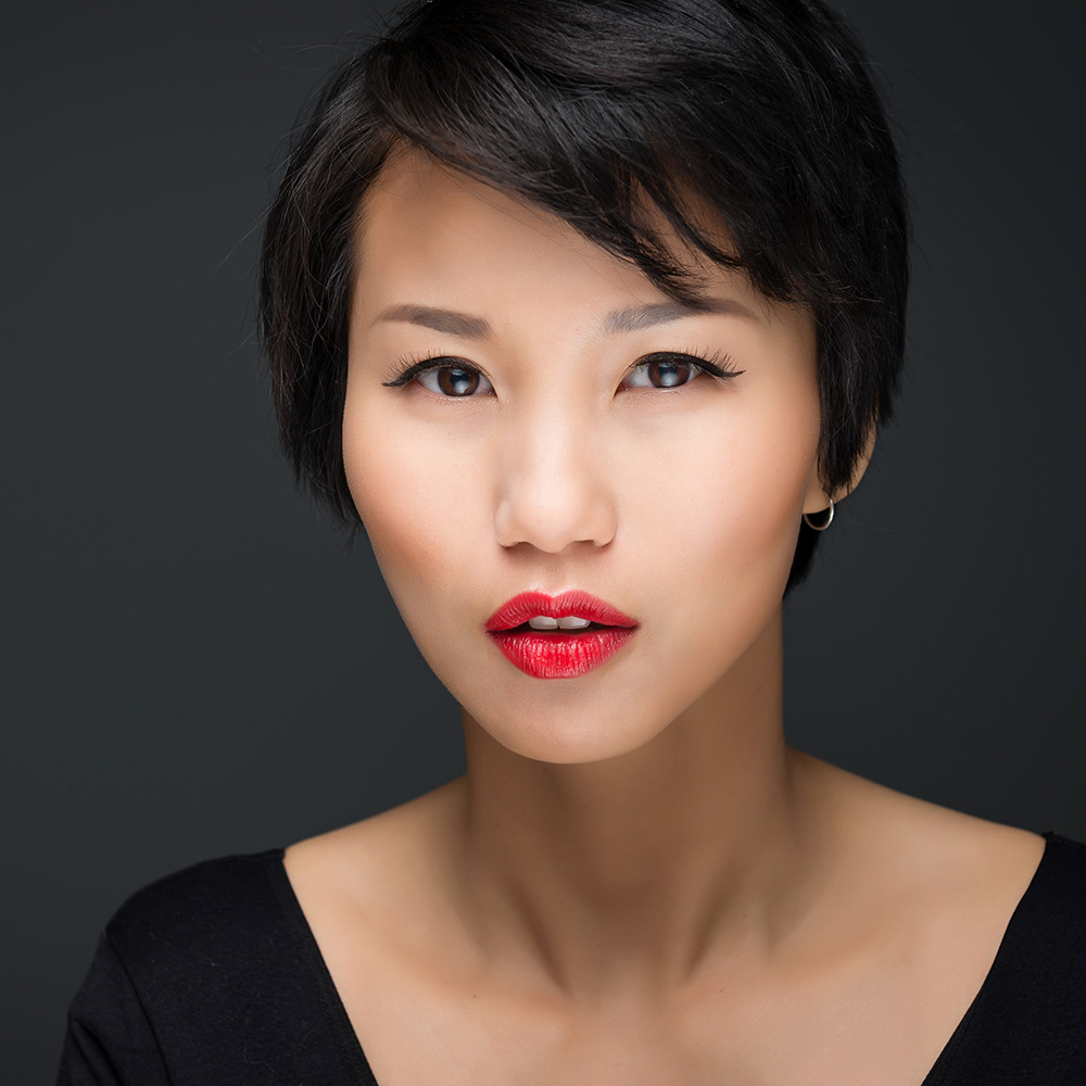Asian female beauty headshot