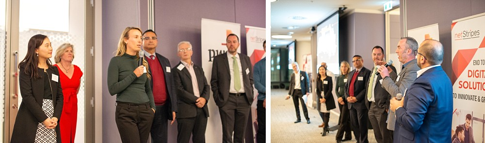 Guests at Bizruption event PWC Sydney Barangaroo