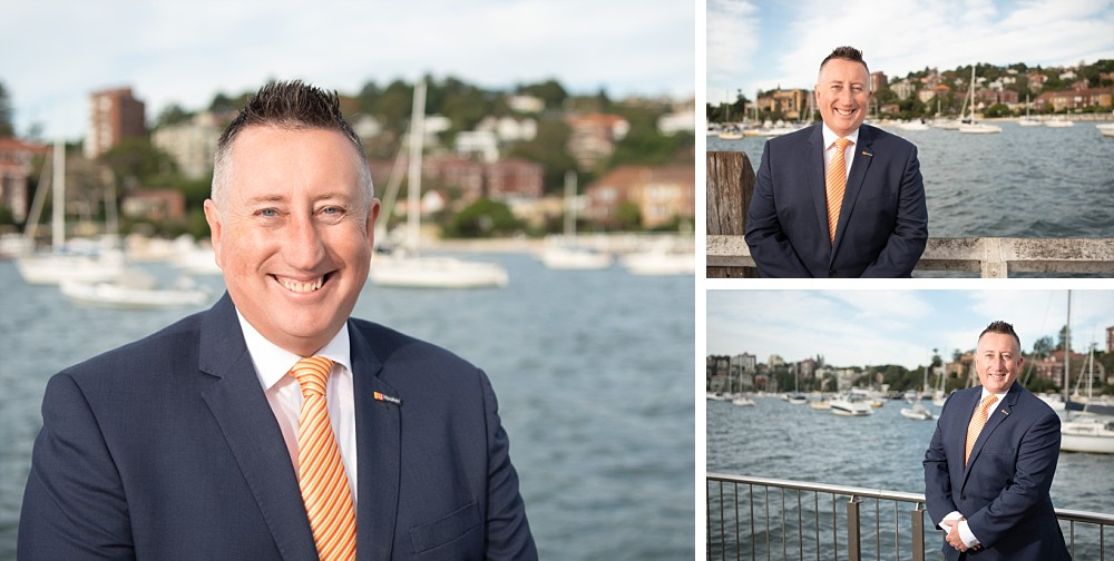 Outdoors Professional Real Estate Headshots at Double Bay