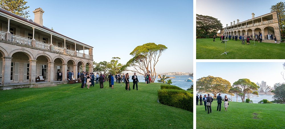 Guests at the back gardens of Admiralty House for the Lung Foundation Australia Reception 2018