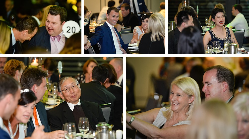 Guests enjoying themselves at the Lung Foundation Australia Annual Dinner Gala 2017