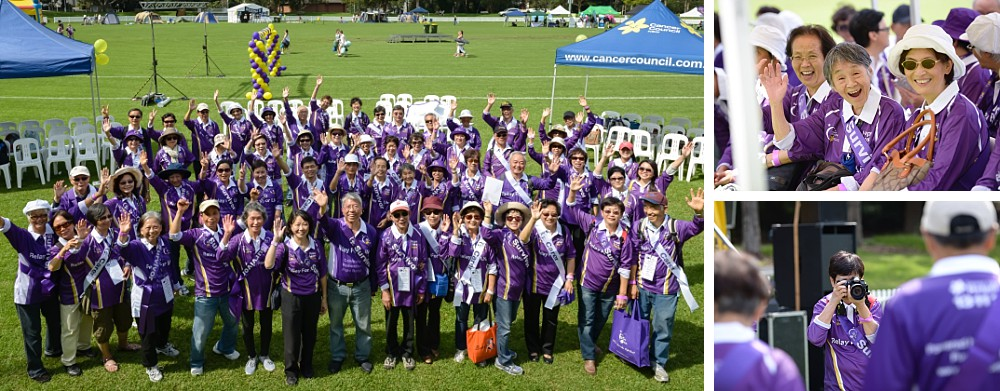 CanRevive members at the North Shore Cancer Council Relay For Life 2014