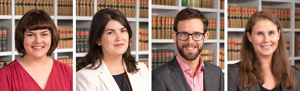 Profession Lawyer headshots in front of law books in Sydney