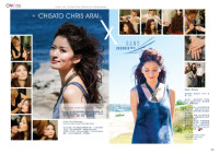 Seafolly x Chisato Chris Arai – 6 page article in The ONE Magazine Dec 2011