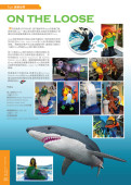 Sydney Wildlife World & Sydney Aquarium – Lego on the Loose article in The ONE Magazine Mar 2011