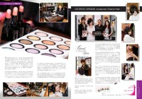 Giorgio Armani makeup – 2 page article in The ONE Magazine May 2011