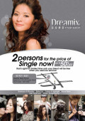 Ad for Dreamix hair salon