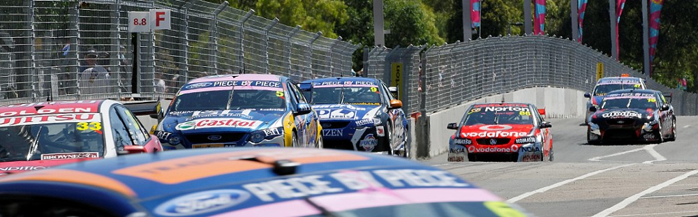 Sydney Telstra 500 V8 Supercars 2011 at Sydney Olympic Park